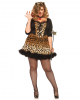 Sexy Leopard Plus Size Costume