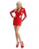 Sexy Boxenluder Kostüm Rot