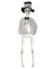 Skelett Bräutigam mit Hut 40cm