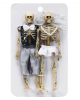 Skeleton Bridal Couple 15cm