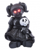 Gothic Puppe mit roten LED Augen