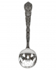 Spooky Pumpkin Teaspoon Silver