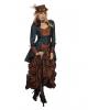Premium Steampunk Damen Kostüm