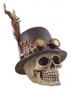 Steampunk Totenkopf mit Zylinder
