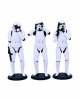 Three Wise Stormtrooper Figures