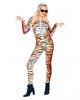 Tiger Jumpsuit mit Animal Print