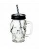 Gothic Skull Trinkglas