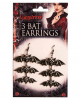 Vampire Bat Earrings
