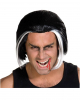 Vampire Wig black-white