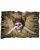 3D Pirate Flag Wall Decoration 50 X 34 Cm