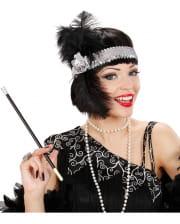 Details about  /1920er 20er Years Charleston Flapper Ladies Fancy Dress Costume