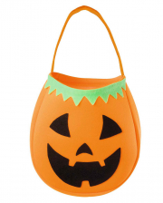 HALLOWEEN TRICK OR TREAT BAG GHOST PUMPKIN SPIDER SWEET CANDY COLLECTION BAG