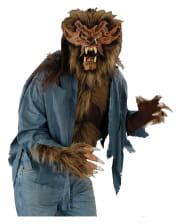werwolf kost m grau f r halloween karneval universe. Black Bedroom Furniture Sets. Home Design Ideas