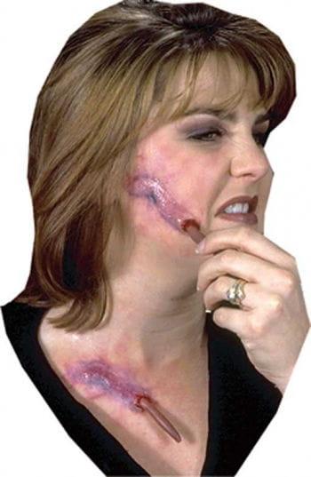 Schleim Würmer Wunde