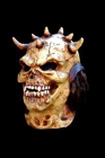 Horn Skull Maske
