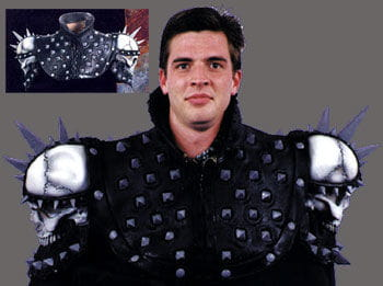 Spiked Shoulder Armour