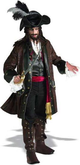 Caribbean Pirate Costume Deluxe