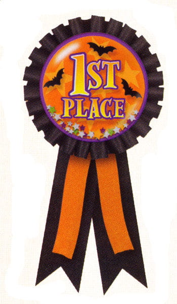 Halloween Badge 1st Prize
