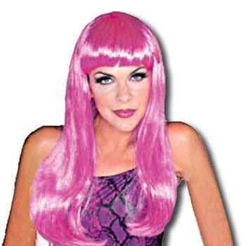 Glamour Perücke Pink