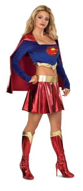 Supergirl Sexy Deluxe Costume M