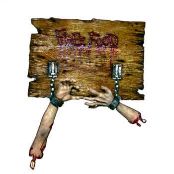 Zombie Restaurant Sign