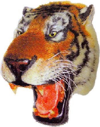 Tiger Head Decoration