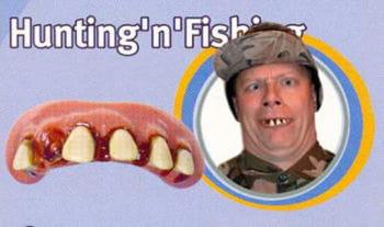 Hunting Fishing Zähne