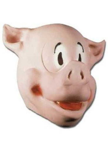 Comic Pig Mask Grey Country