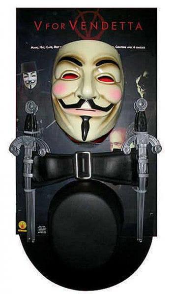 V for Vendetta Costume Kit