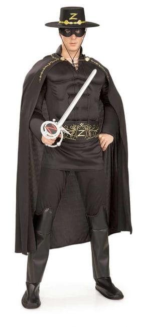 Zorro Muskel Kostüm Deluxe