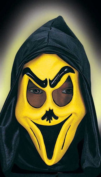 Child Funny Ghost Mask Smily Yellow