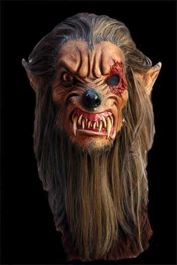 Einäugige Beast Maske