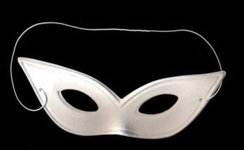 Catwoman Maske weiß