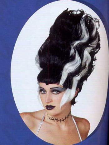 Die Frisur von Frankensteins Braut