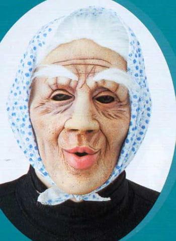 Old granny mask Dolly