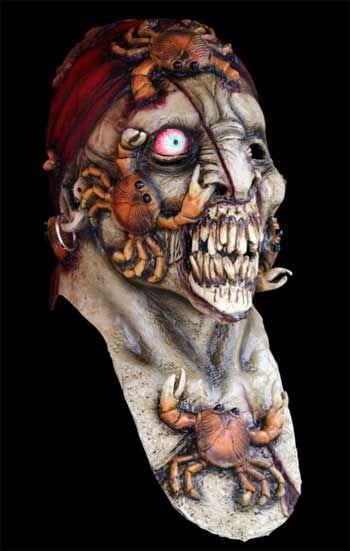 Zombie Pirat Maske