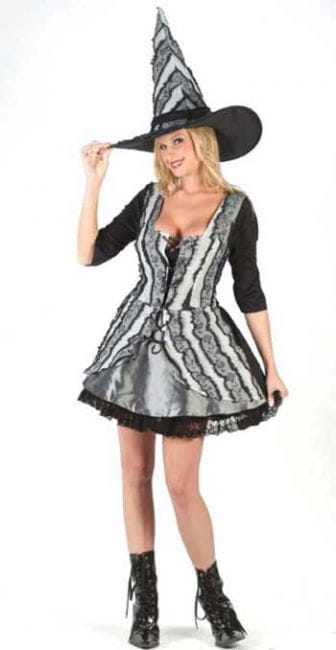 Gothic Rose Witch Costume. ML