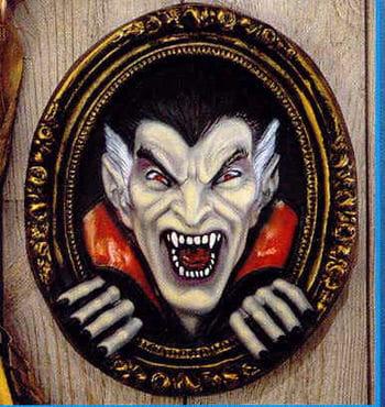 Dracula / Vampir Wandbild