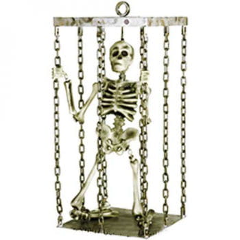 Shaky Skeleton in a Cage