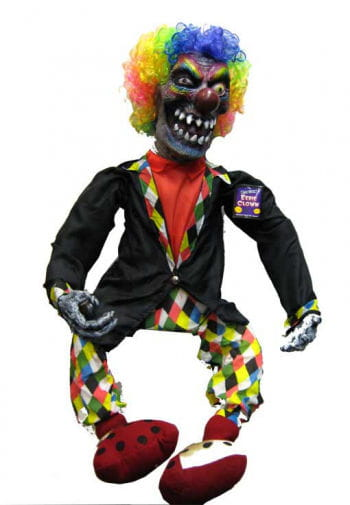 Teuflischer Clown LED Augen 100cm