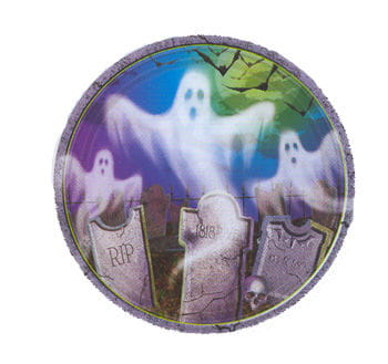 Ghost Paper Plates 8PCS
