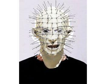 Pinhead Hellraiser Maske