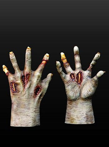 Zombie Gloves Dark Brown