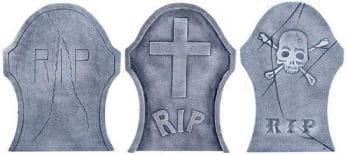 Tombstone Set 3 PCS