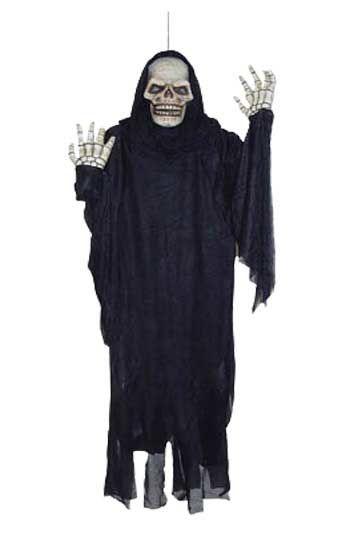 Hanging Black Grim Reaper 145cm