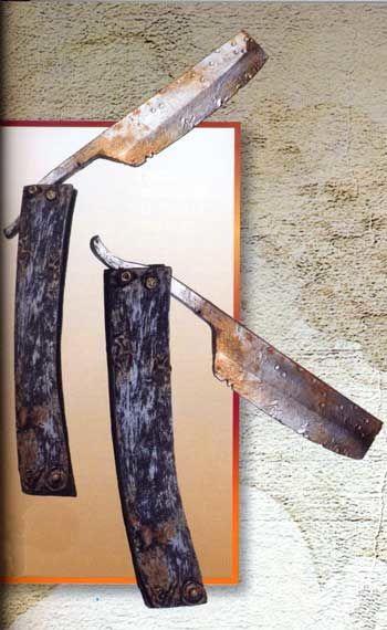 Folterwerkzeug Rasiermesser