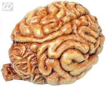 Blutiges Latex Gehirn