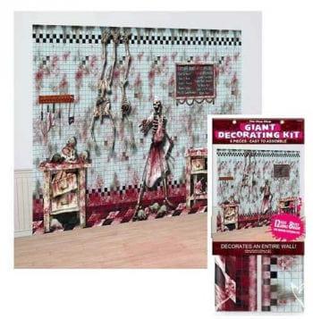 Bloody slaughterhouse decorative foil