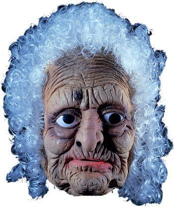 Alte Frau Latex Maske mit Haaren