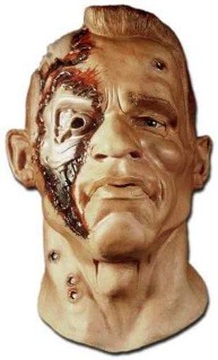 Terminator Maske aus Schaumlatex